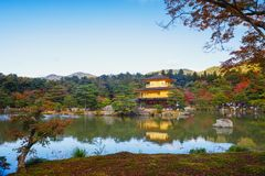 Tempiale di Kinkakuji Fotografie Stock
