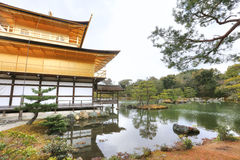 Tempiale di Kinkakuji Fotografia Stock Libera da Diritti
