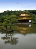 Tempiale di Kinkakuji Immagine Stock