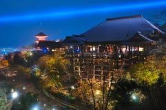 Tempiale di Kiyomezudare Fotografie Stock Libere da Diritti
