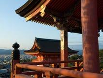 Tempiale di Kiyomizu Fotografia Stock