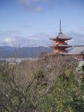 Tempiale di Kiyomizu Immagini Stock