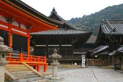 Tempiale di Kiyomizu-dera Immagini Stock