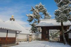 Tempiale di Kiyomizu-dera Fotografia Stock