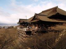 Tempiale di Kiyomizu, Kyoto Giappone Fotografia Stock Libera da Diritti