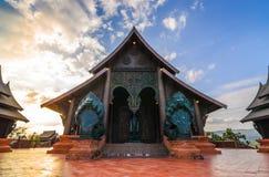 Tempiale di legno immagini stock libere da diritti