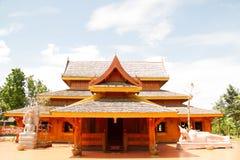 Tempiale di legno Fotografia Stock Libera da Diritti