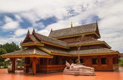 Tempiale di legno Immagine Stock