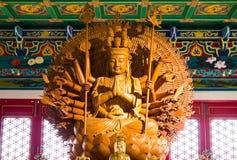 Tempiale di Leng Noei Yi 2 Fotografie Stock Libere da Diritti