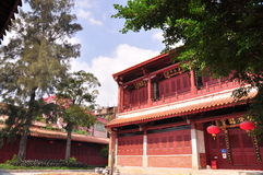 Tempiale di Matsu in porcellana Fotografie Stock