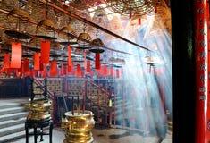 Tempiale di Mo dell'uomo Fotografie Stock Libere da Diritti