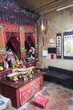 Tempiale di Mo dell'uomo a Hong Kong Fotografie Stock
