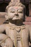 Tempiale di Nyatapola in Bhaktapur Fotografia Stock