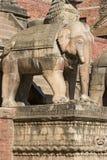 Tempiale di Nyatapola in Bhaktapur Fotografie Stock Libere da Diritti