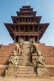 Tempiale di Nyatapola in Bhaktapur Immagine Stock Libera da Diritti
