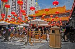 Tempiale di peccato di Wong tai di Hong Kong immagini stock libere da diritti