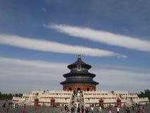 Tempiale di Pechino di cielo Fotografia Stock