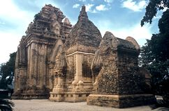 Tempiale di pietra, Vietnam Immagine Stock