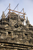 Tempiale di Plaosan, Yogyakarta, Indonesia immagine stock libera da diritti