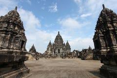 Tempiale di Prambanan Fotografie Stock