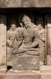 Tempiale di Prambanan, Java, Indonesia immagini stock