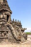 Tempiale di Prambanan, Yogyakarta, Java, Indonesia Fotografia Stock Libera da Diritti