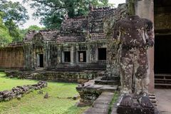 Tempiale di Preah Khan Fotografie Stock Libere da Diritti
