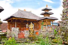 Tempiale di Pura Saraswati, Ubud, Bali, Indonesia Immagini Stock Libere da Diritti