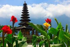 Tempiale di Pura Ulun Danu in Bali Immagini Stock Libere da Diritti