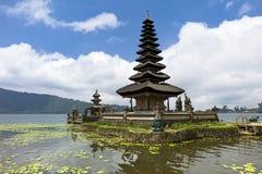 Tempiale di Pura Ulun Danu in Bali Fotografie Stock Libere da Diritti