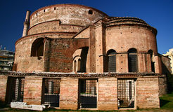 Tempiale di Rodonta a Salonicco, Grecia Fotografia Stock Libera da Diritti