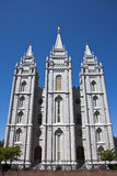 Tempiale di Salt Lake Fotografie Stock Libere da Diritti