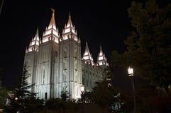 Tempiale di Salt Lake City immagine stock libera da diritti