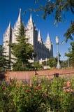 Tempiale di Salt Lake City fotografia stock libera da diritti