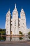 Tempiale di Salt Lake City, Utah fotografia stock