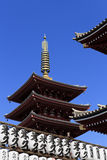Tempiale di Senso-ji, Asakusa, Tokyo, Giappone Immagine Stock Libera da Diritti