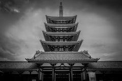 Tempiale di Senso-ji a Tokyo fotografie stock