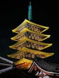 Tempiale di Sensoji, Asakusa, Tokyo, Giappone Immagini Stock Libere da Diritti