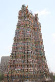 Tempiale di Sri Meenakshi, Madura Immagine Stock Libera da Diritti