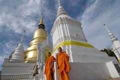 Tempiale di Suan Dok Fotografia Stock Libera da Diritti