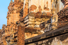 Tempiale di Sukothai Immagine Stock