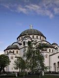 Tempiale di Sveti Sava Fotografia Stock Libera da Diritti
