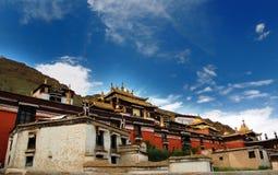 Tempiale di Tashilhunpo Fotografie Stock
