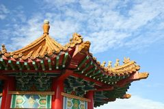 Tempiale di Thean Hou Immagine Stock