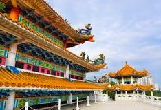 Tempiale di Thean Hou a Kuala Lumpur Malesia fotografie stock libere da diritti