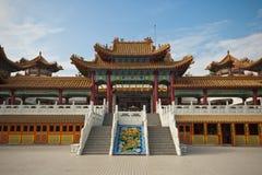 Tempiale di Thean Hou a Kuala Lumpur, Malesia Fotografie Stock
