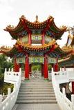 Tempiale di Thean Hou a Kuala Lumpur, Malesia Fotografia Stock Libera da Diritti