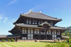 Tempiale di Todai-ji, Giappone Fotografia Stock