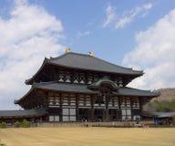 Tempiale di Todaiji, Nara, Giappone. Immagine Stock Libera da Diritti
