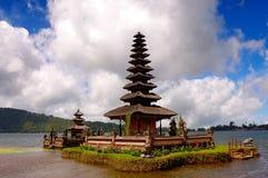 Tempiale di Ulun Danu Beratan Fotografie Stock